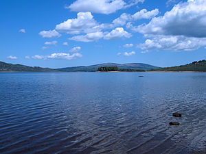 Vlasina Lake, south-east Serbia
