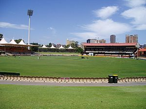 The Adelaide Oval. Taken in January 2007