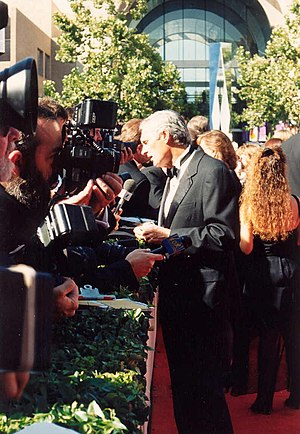 Alan Alda on the red carpet at the Emmys 9/11/...