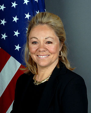 Ambassador Eileen Chamberlain Donahoe is the U...