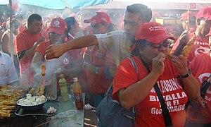 English: Followers of Hugo Chavez. Chavismo.