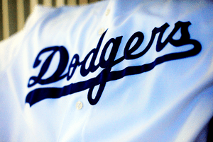 Dodgers Uniform Script