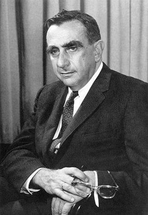 Edward Teller in 1958 as director of Lawrence ...