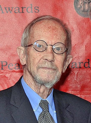 English: Elmore Leonard, Miami Book Fair Inter...