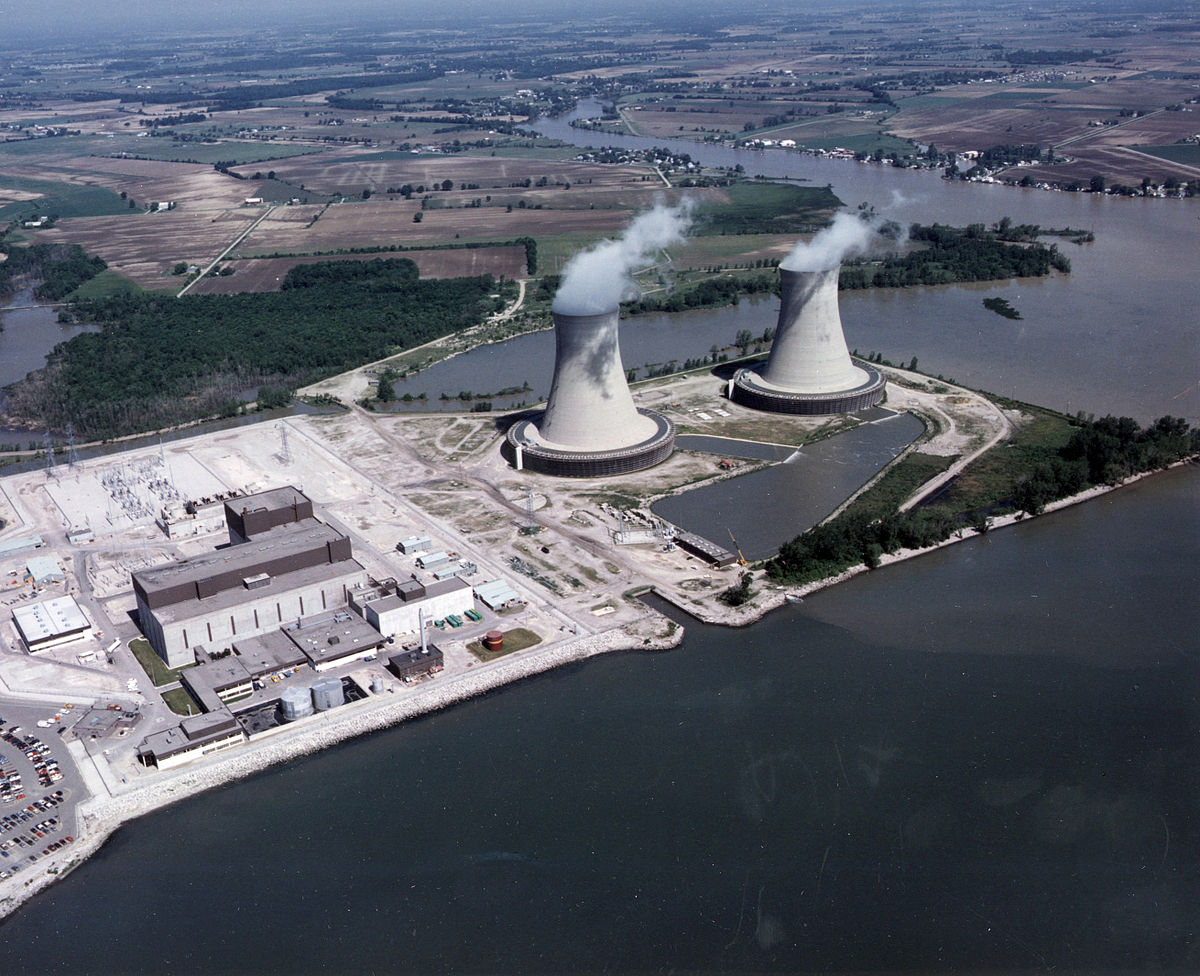 hight resolution of nuclear power plant layout and operation