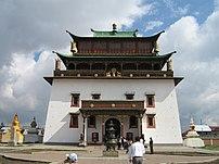 Gandantegchinlen Khiid Monastery, Ulaanbaatar,...
