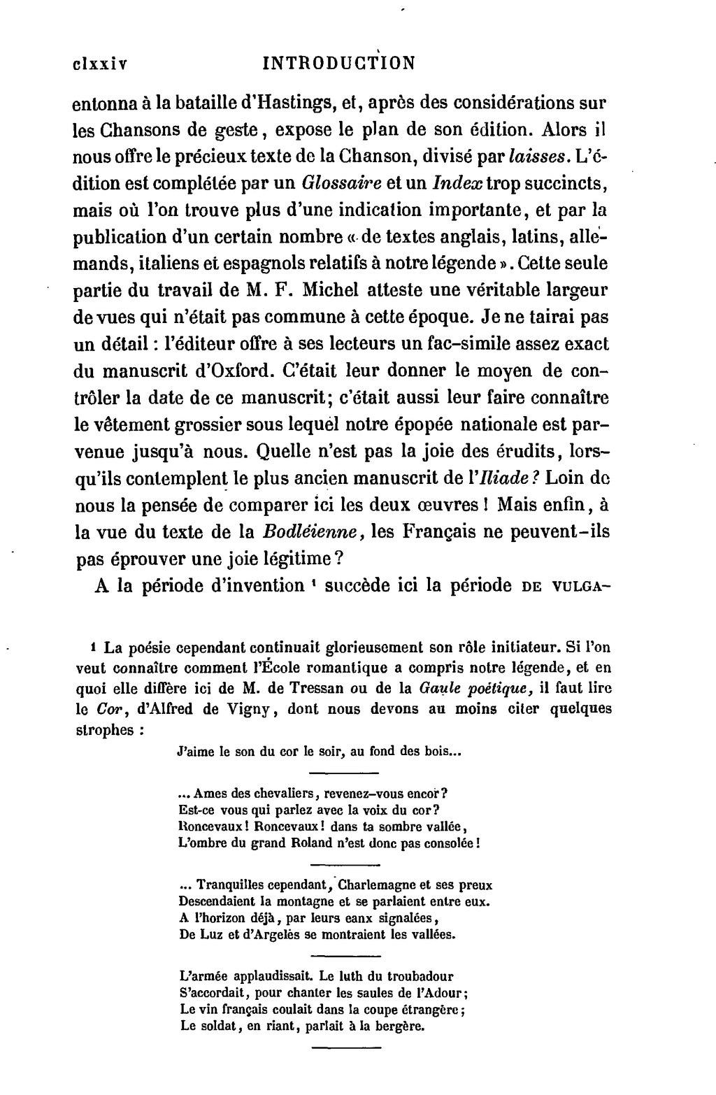 J'aime Le Son Du Cor Le Soir Au Fond Des Bois : j'aime, Page:Gautier, Chanson, Roland, 1.djvu/176, Wikisource