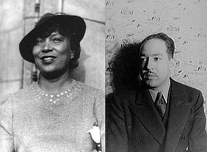 Zora Neale Hurston and Langston Hughes