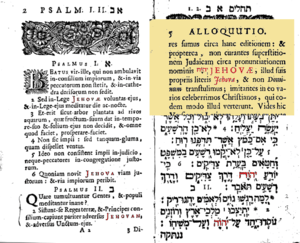 Excerpt from Johann Leusden's Latin translatio...