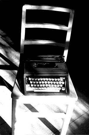 Máquina de escribir propia