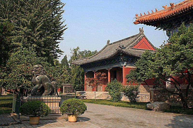Kelenteng Dewa Gunung Dai di Provinsi Shandong.