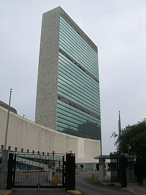 United Nations headquarters, Manhattan, New Yo...