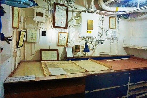 Queensland Maritime Museum - Joy of Museums - HMAS Diamantina (K377) 12