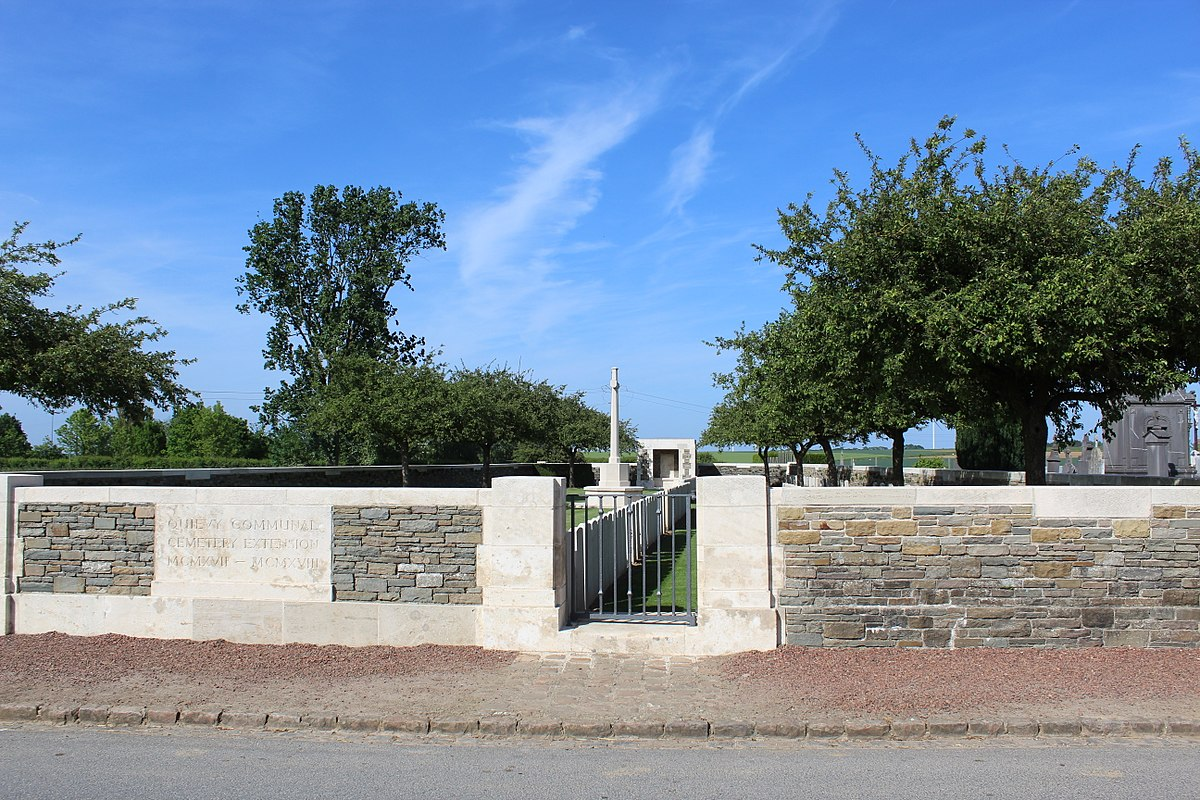Quievy Communal Cemetery Extension  Wikipdia