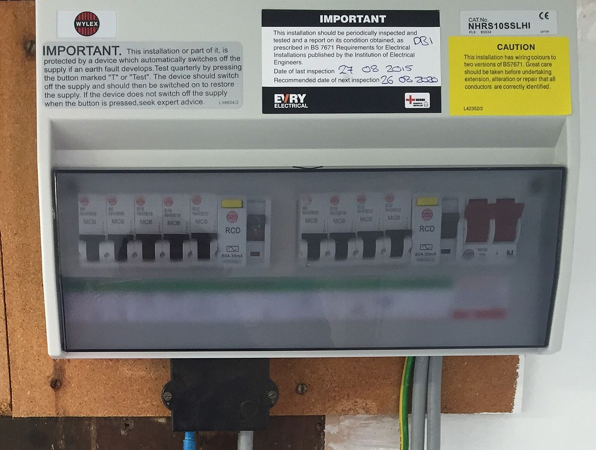 wylex split load consumer unit wiring diagram home theater tv box national inspection council for electrical installation