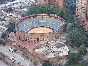 Santamaria bullring in Bogota