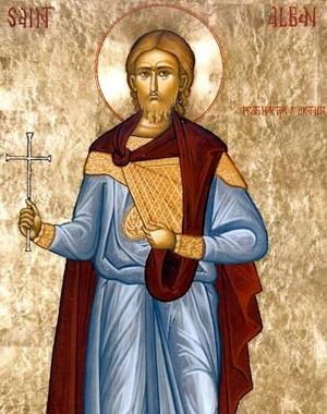 Saint Alban, the first British Christian marty...