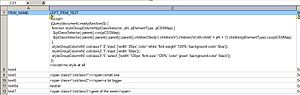English: OpenClinica: styling with jQuery