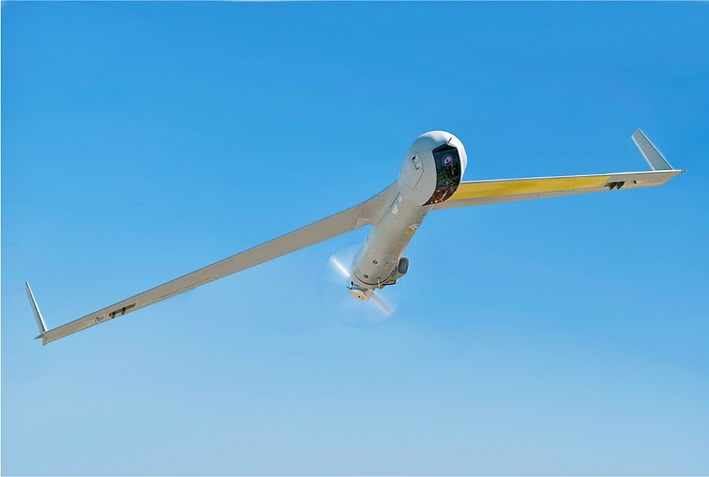 US Navy 1005268-N-RC844-159 A Scan Eagle Unmanned Aerial Vehicle (UAV).jpg