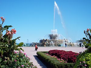 English: Buckingham Fountain in Grant Park Chicago
