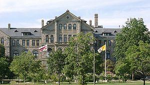 Catholic University of America, in Washington D.C.