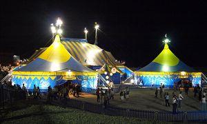English: Cirque du Soleil's Grand Chapiteau in...