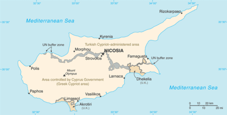 List of cities towns and villages in Cyprus Wikipedia