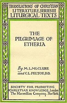 Egeria pilgrim  Wikipedia