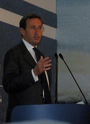 Gianfranco Fini, italian politician.