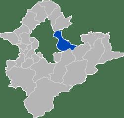 汐止區位於新北市內東北方