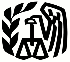 Logo of Internal Revenue Service, USA