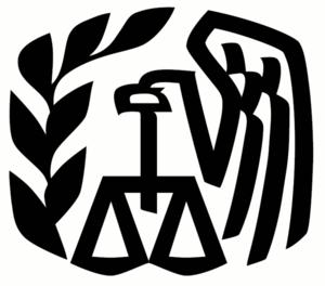 Logo of Internal Revenue Service, USA