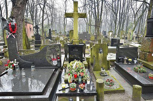 Irena Sendler grave Powazki Cemetery in Warsaw 2016