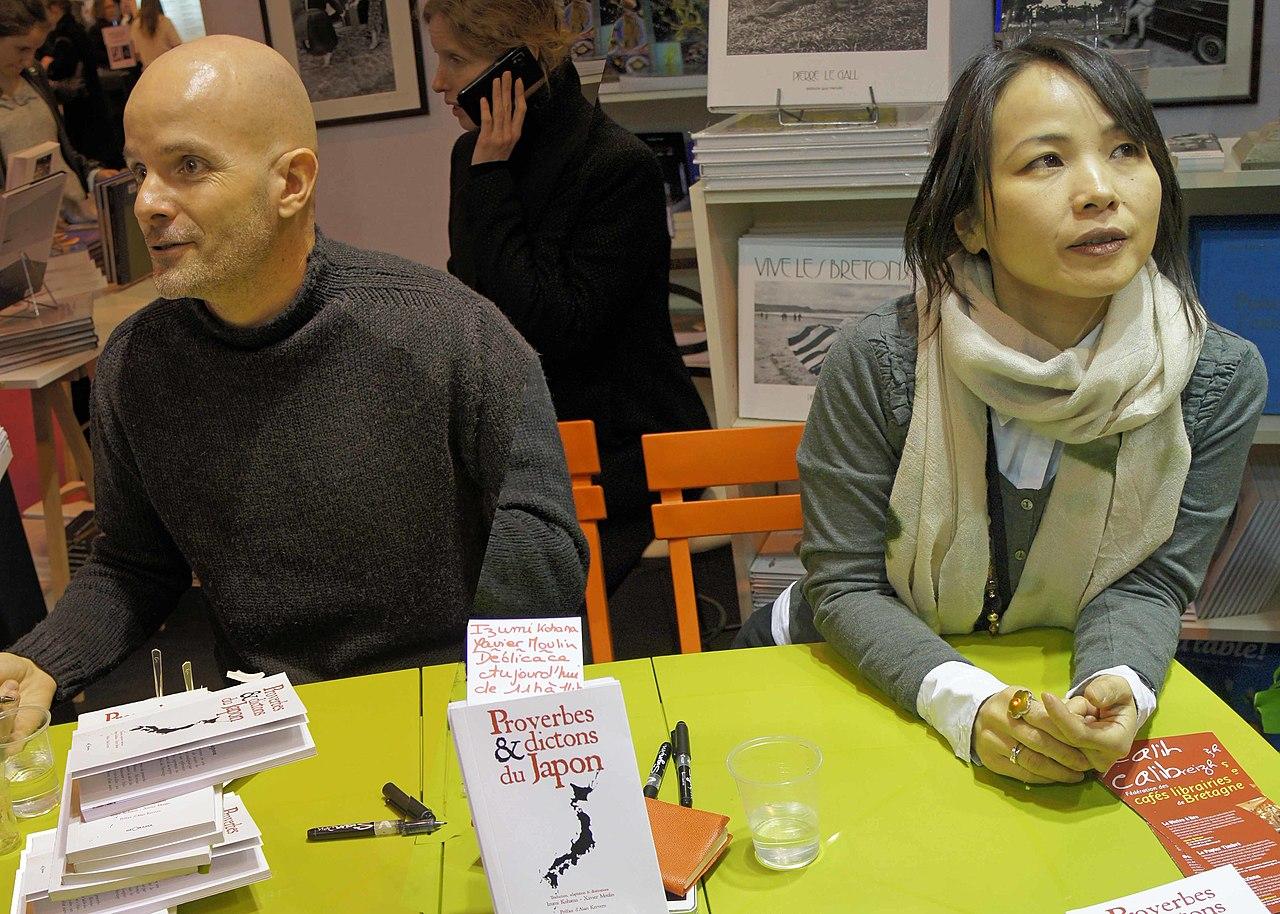 File Izumi Kohama Xavier Moulin Salon Du Livre 2012 Jpg