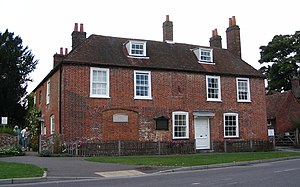 Jane Austen lived here, in Chawton, during her...