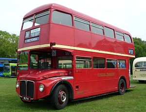 Preserved London Transport RM9 (VLT 9), an AEC...