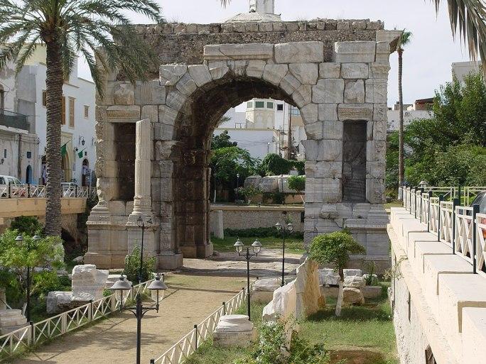 Marcus Aurelius Arch Tripoli Libya