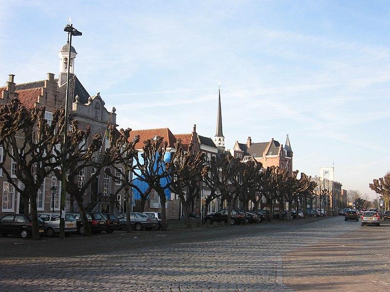 Markt in Geertruidenberg.