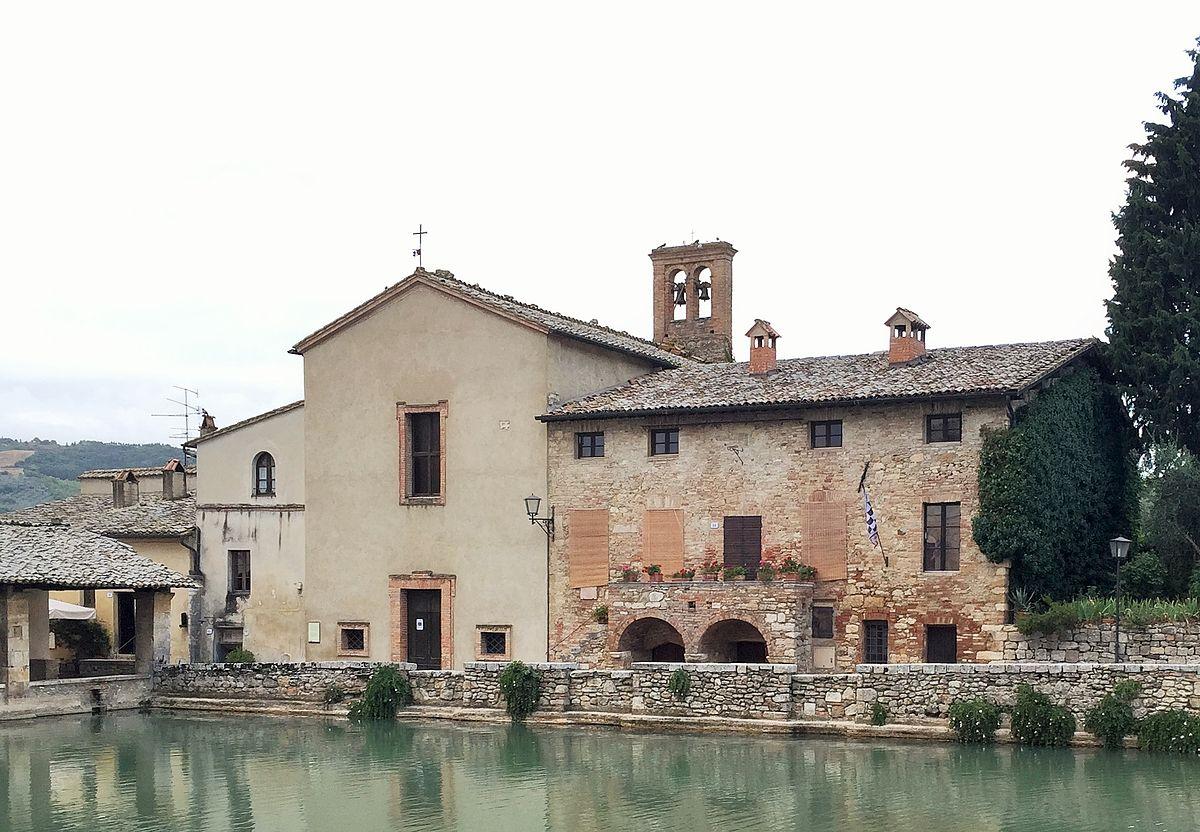 Chiesa di San Giovanni Battista a Bagno Vignoni  Wikipedia