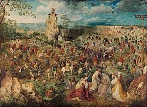 Pieter Bruegel's The Way to Calvary