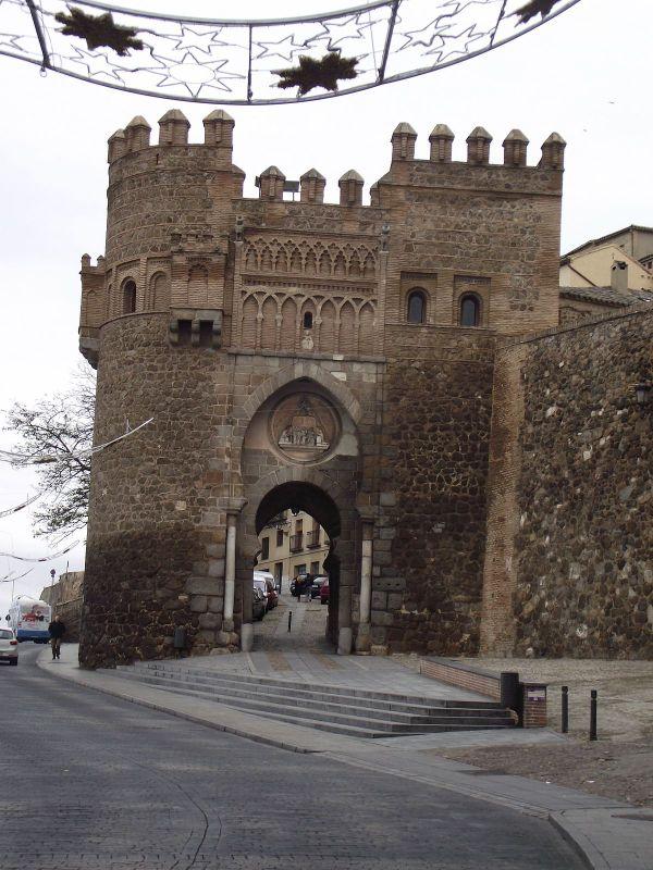 Toledo Spain Puerta Del Sol