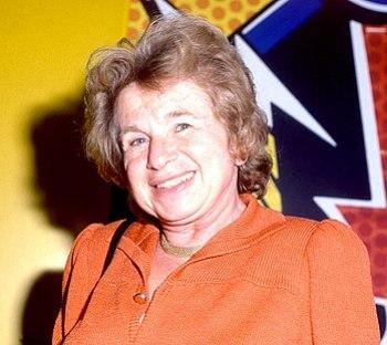 English: Dr. Ruth Westheimer Deutsch: Dr. Ruth...
