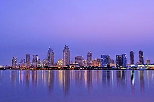 San Diego Skyline at Dawn
