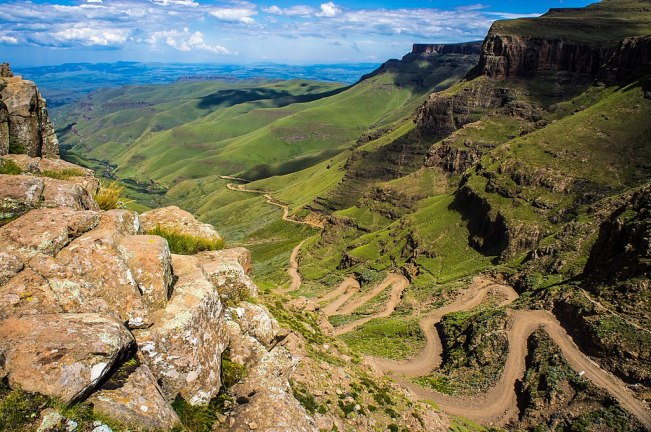Sani Pass, IDP, South Africa