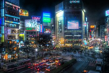 Shibuya, Tokyo, Japan 2008/05/14 This photo wa...