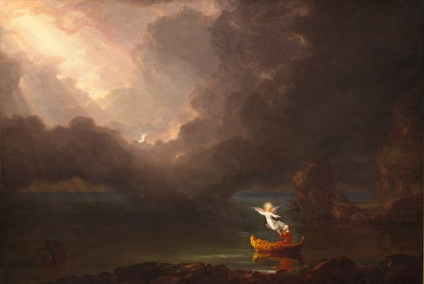 Thomas Cole Paintings Voyage of Life