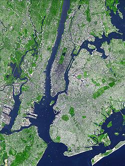El área metropolitana de Nueva York.