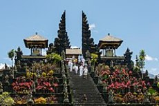 TheMother Temple of Besakih, one of Bali's most significantHindutemples