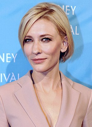 English: Actress Cate Blanchett at the 2011 Sy...