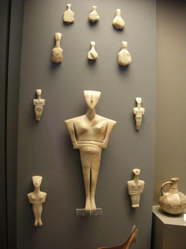 Cycladic Art - Wikipedia